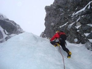 Ben Nevis-Five Point Gully V/5