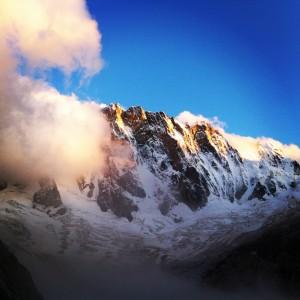 Grandes Jorasses 4208m - North Face